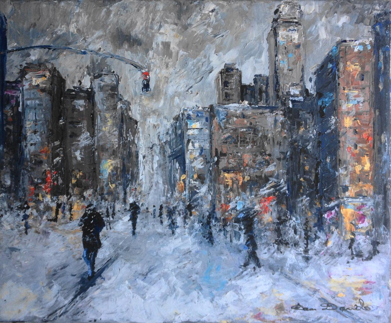 Dam Domido - New York City, tempête...
