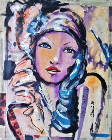 Muzik zak portrait expressionniste par Dam Domido