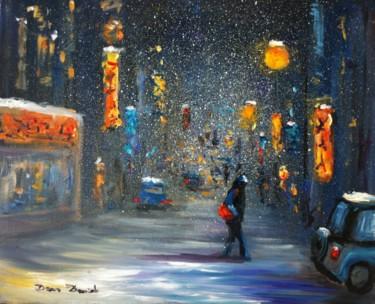 """""""New York, tempête de neige à Chinetown...."""""""