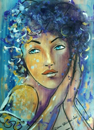 L'écume des rêves...portrait expressionniste par Dam Domido