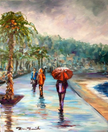 """Nice, novembre la """"Prom.."""" sous la pluie"""