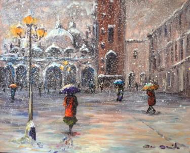"""""""Venise, Place San Marco sous la neige..."""""""