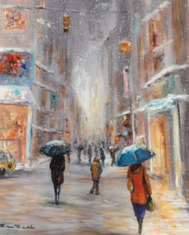 NewYork, neige...entre les murs..