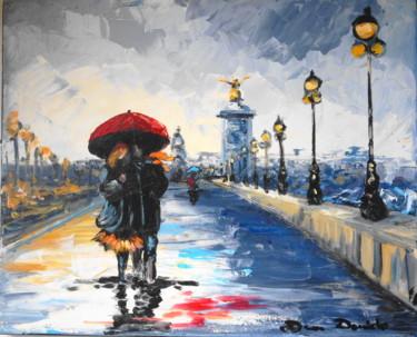 Paris, pluie...;Les amoureux du Pont Alexandre III